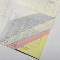 Formulare – Durchschreibesätze